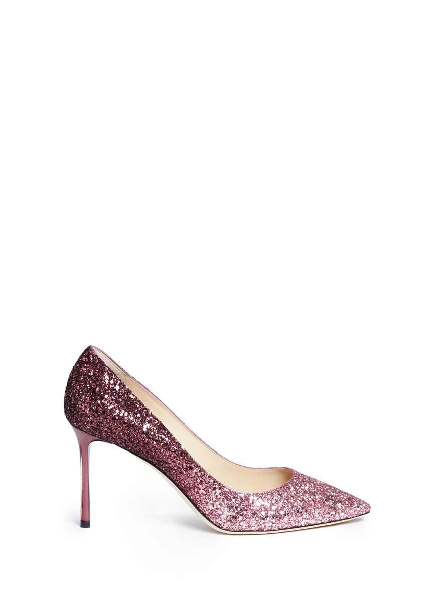 3611f954eac JIMMY CHOO  Romy 85  Dégradé Glitter Pumps.  jimmychoo  shoes  pumps ...