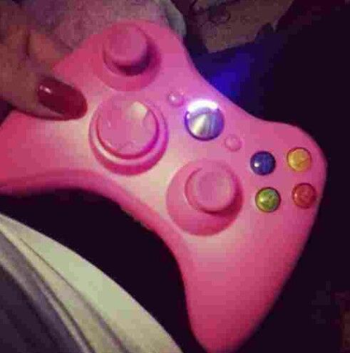 Mine My Boo Had Gotten Made For me Even Pink Light