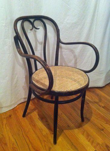 Bentwood Chair Thonet Antique New Cane Ebay With Images