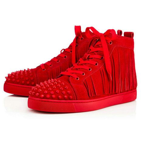 279f6534eba Coachelito Spikes Flat - Red Bottom Christian Louboutin Shoes