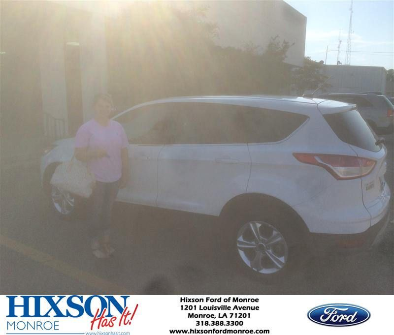 Congratulations to madison mcpherson on your ford escape