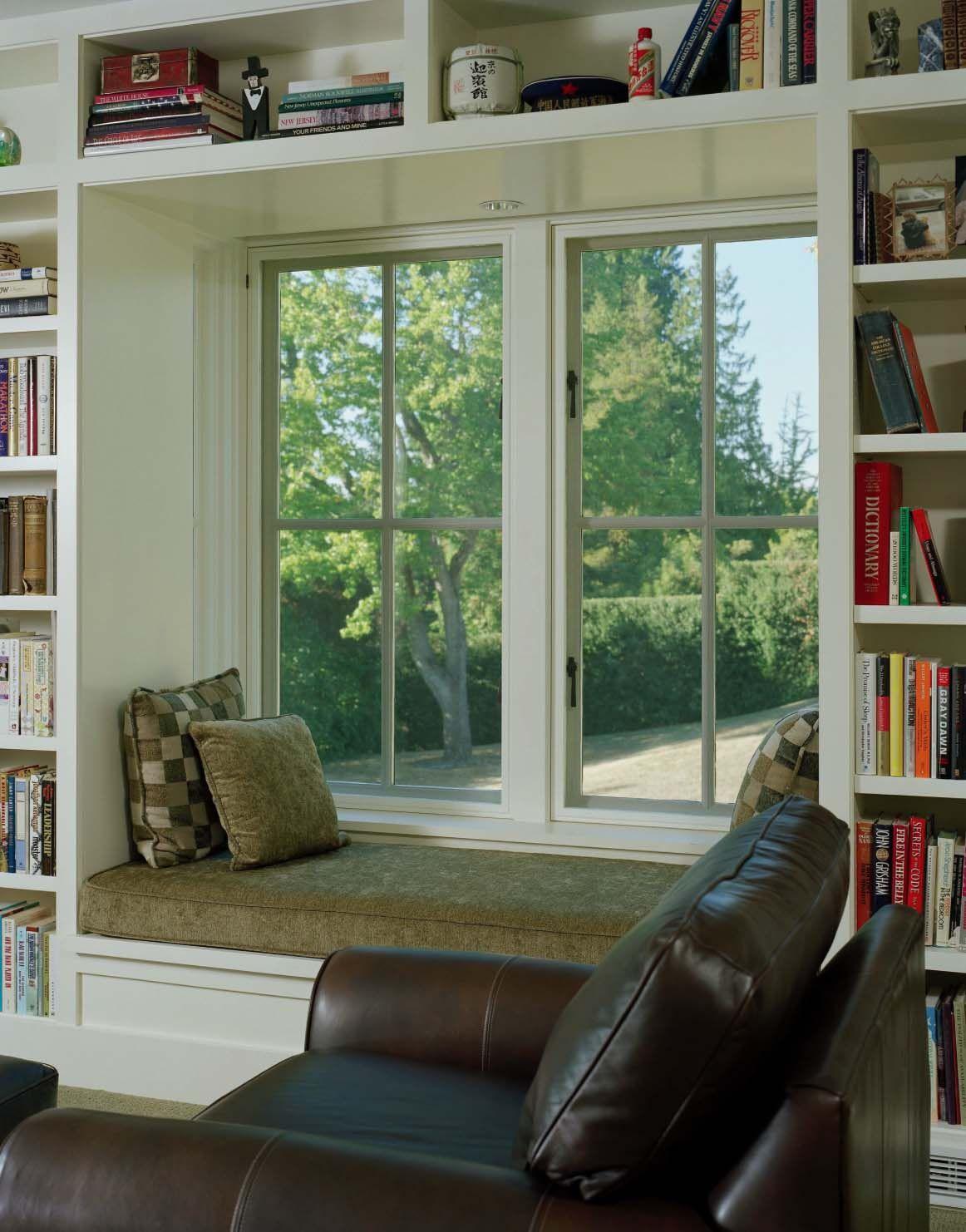 Window seat ideas living room  homelibrarywithwindowseatkindesigng   built