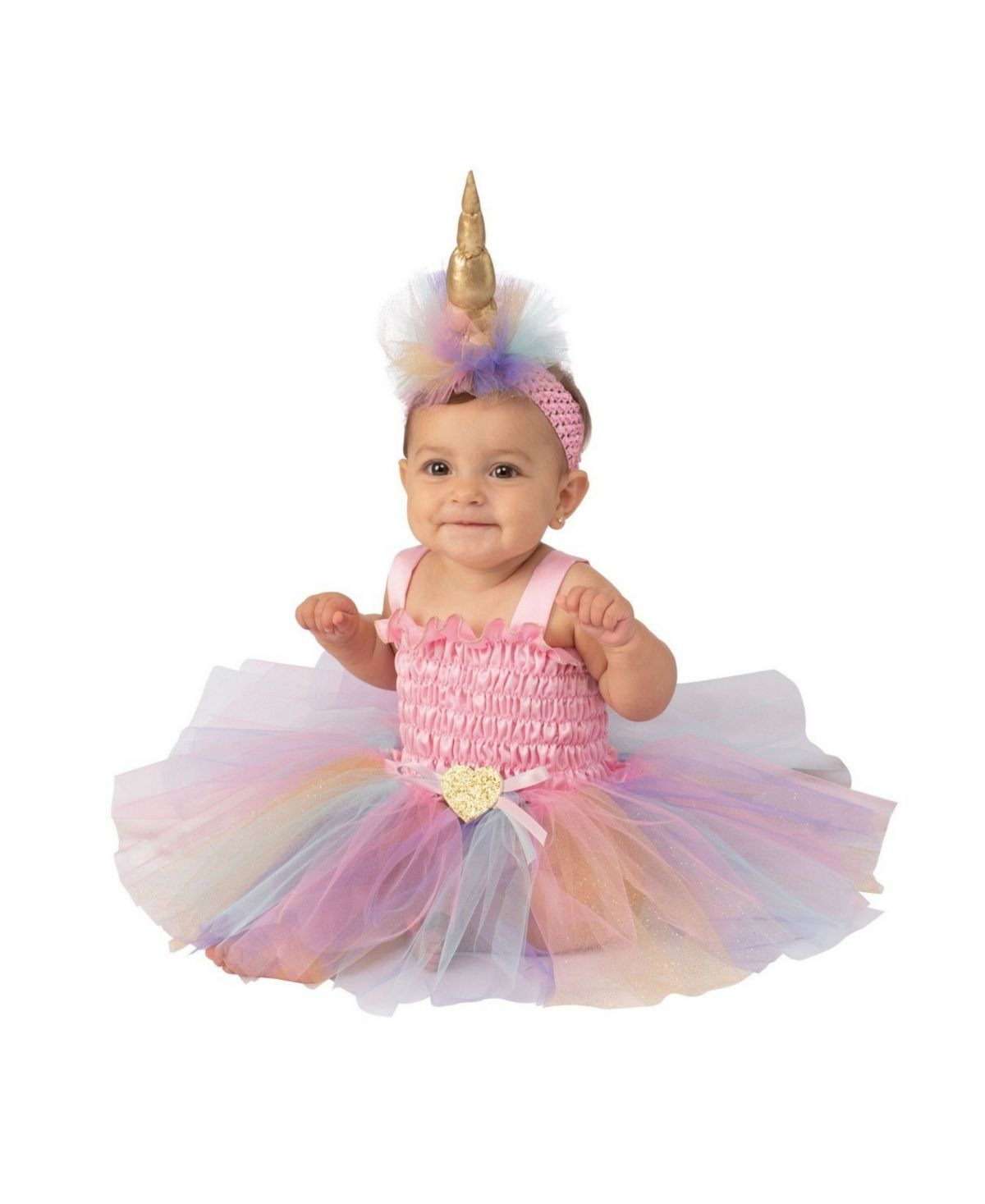 BuySeasons Unicorn Tutu Infant-Toddler Costume - Pink ...