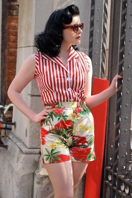 Tara Starlet 1940s 40s Style: Mix And Match With Tara Starlet In 2020