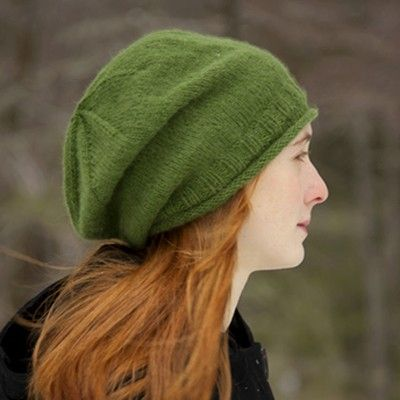 Classic Elite Yarns Fresco Simply Slouchy Hat Free In Classic