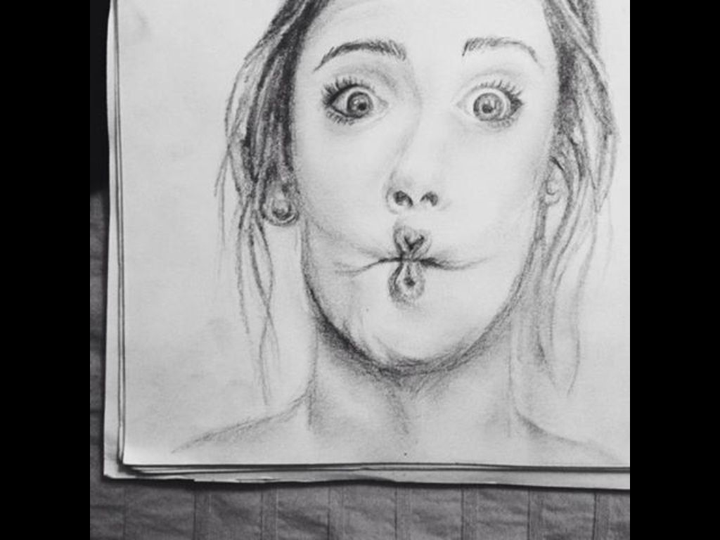 Pencil sketch with a #2!!