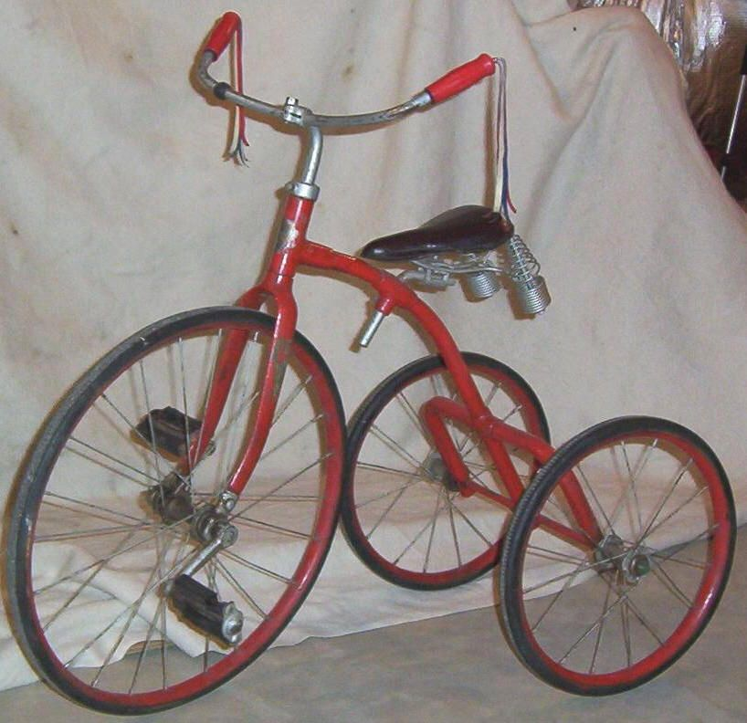 Toledo Tricycle Tricycle Vintage Bicycles Vintage Bikes