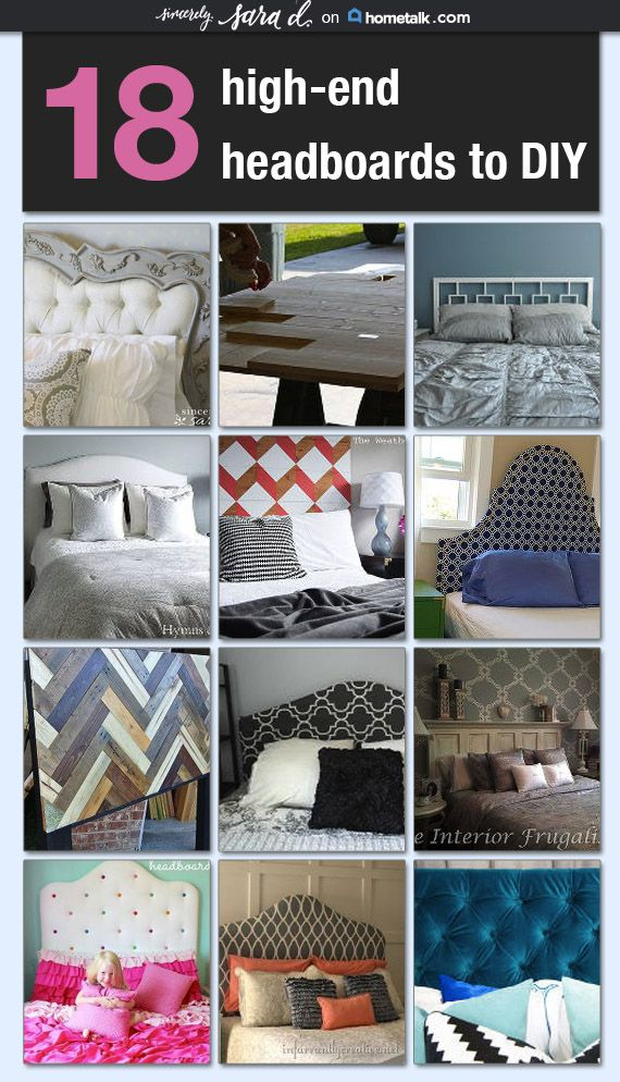18 High-End Headboards you can DIY! sincerely, sara d. for Hometalk