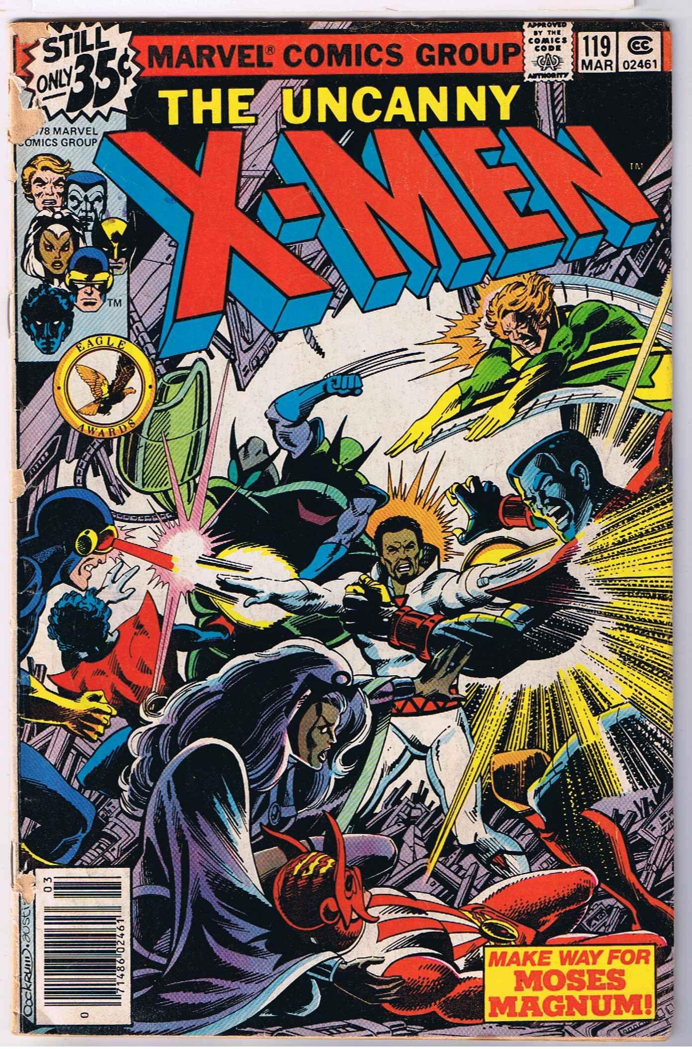 X Men 119 For More X Men Check Out Adamantiumclaws Com Uncannyxmen119 Xmen119 Terryaustin Mosesmagnum Newxmen Marvel Comics Covers Marvel Comics Comics