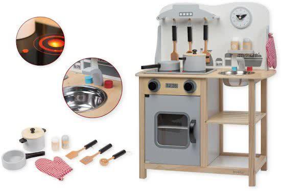 Houten Keuken Kind : Jouéco houten keuken met accessoires jouéco deze zeer