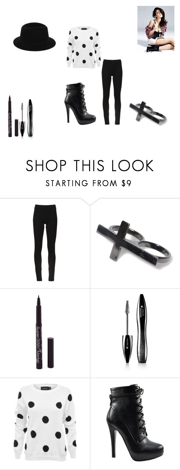 """""""Untitled #106"""" by alexis6399 ❤ liked on Polyvore featuring DKNY, Pull&Bear, Lancôme, MINKPINK, Bakers and Lauren Ralph Lauren"""