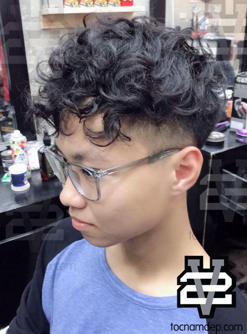Kiểu tóc Undercut xoăn khác nữa không thể bỏ lỡ, đó chính là