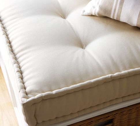 Window Seat Cushion Idea If Only I Could Sew French Mattress Platform Daybed Window Seat Cushions
