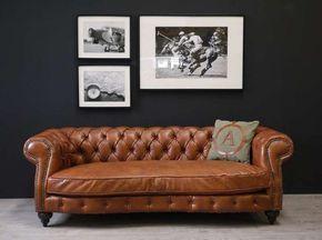Chesterfield sofa leder  Chesterfield Sofa Leder cognac   sofa   Pinterest   Chesterfield ...