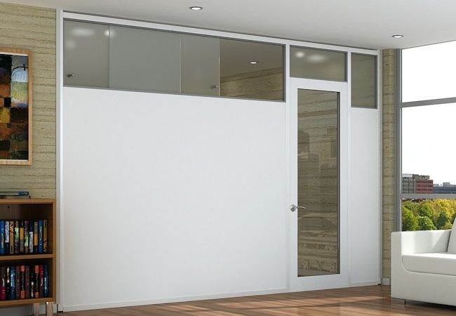 How To Build A Temporary Wall Room Divider Walls Office Room