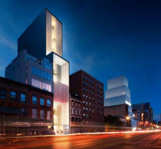 'sperone westwater gallery' by foster   partners - designboom | architecture