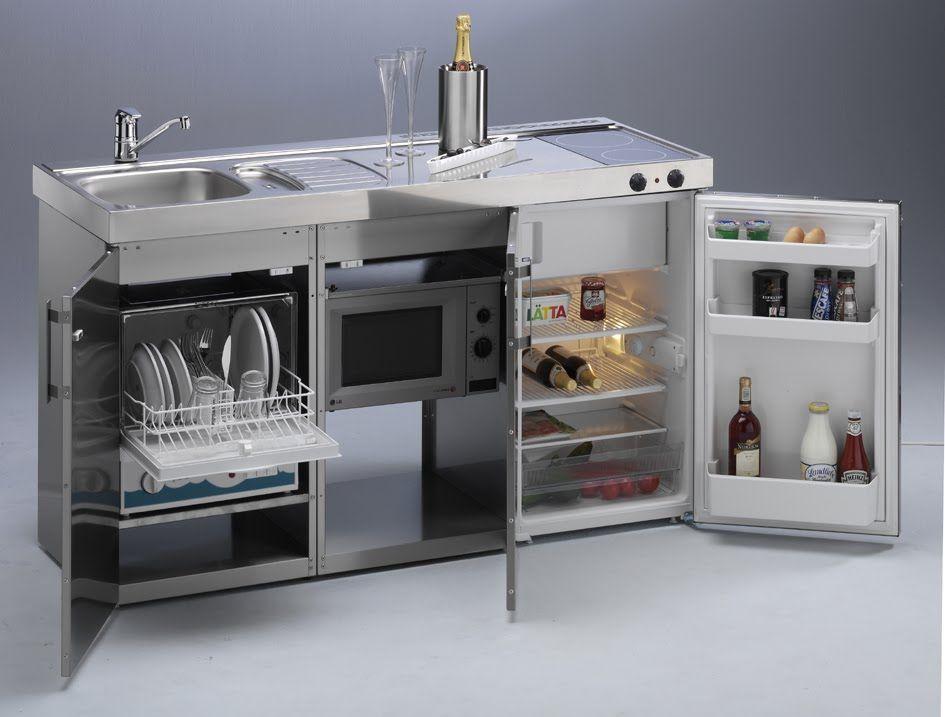 Muebles de cocinas para espacios peque for Modelos de muebles de cocina para espacios pequenos