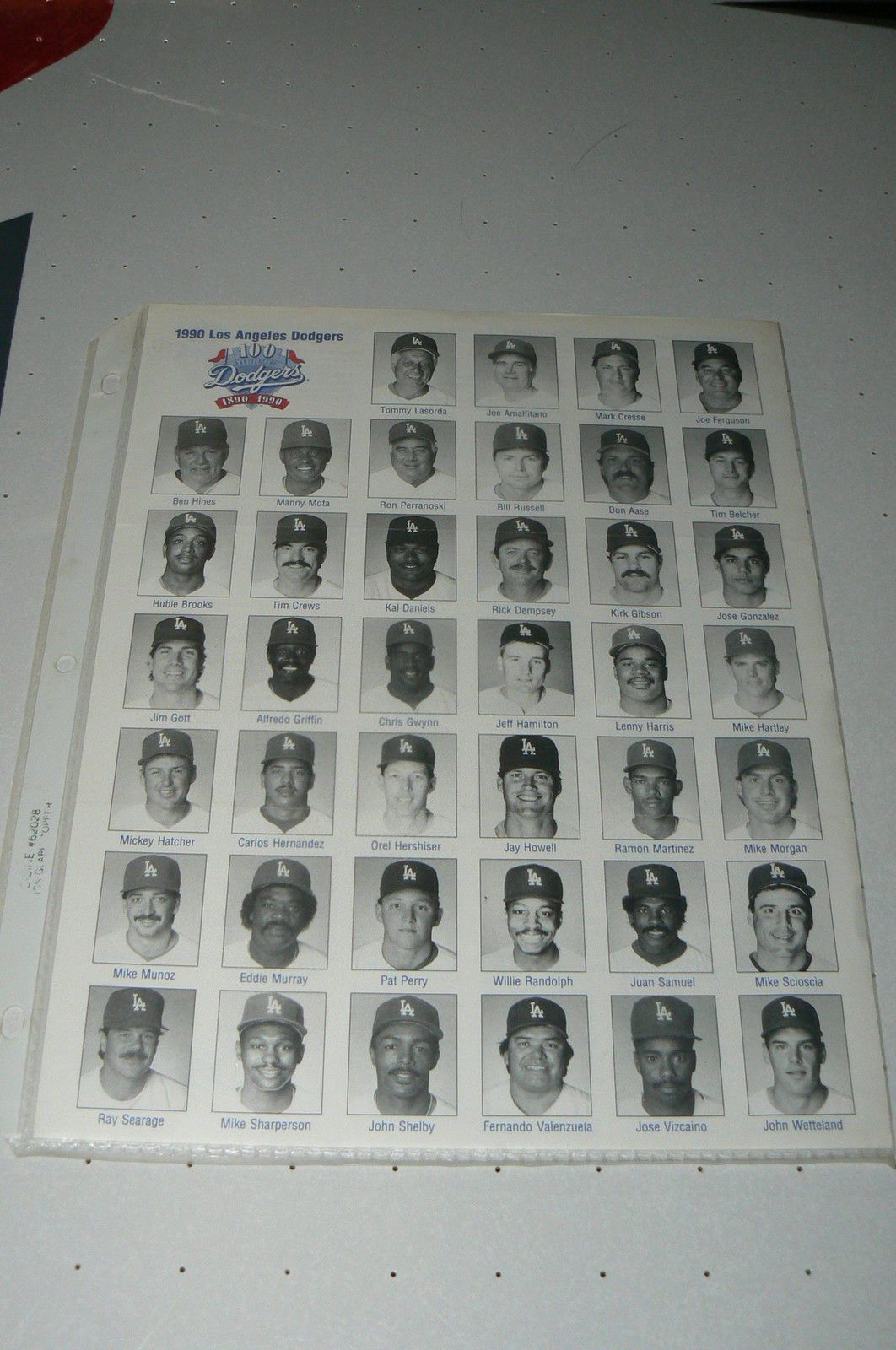 Los Angeles Dodgers 1990 Schedule Los Angeles Dodgers Dodgers