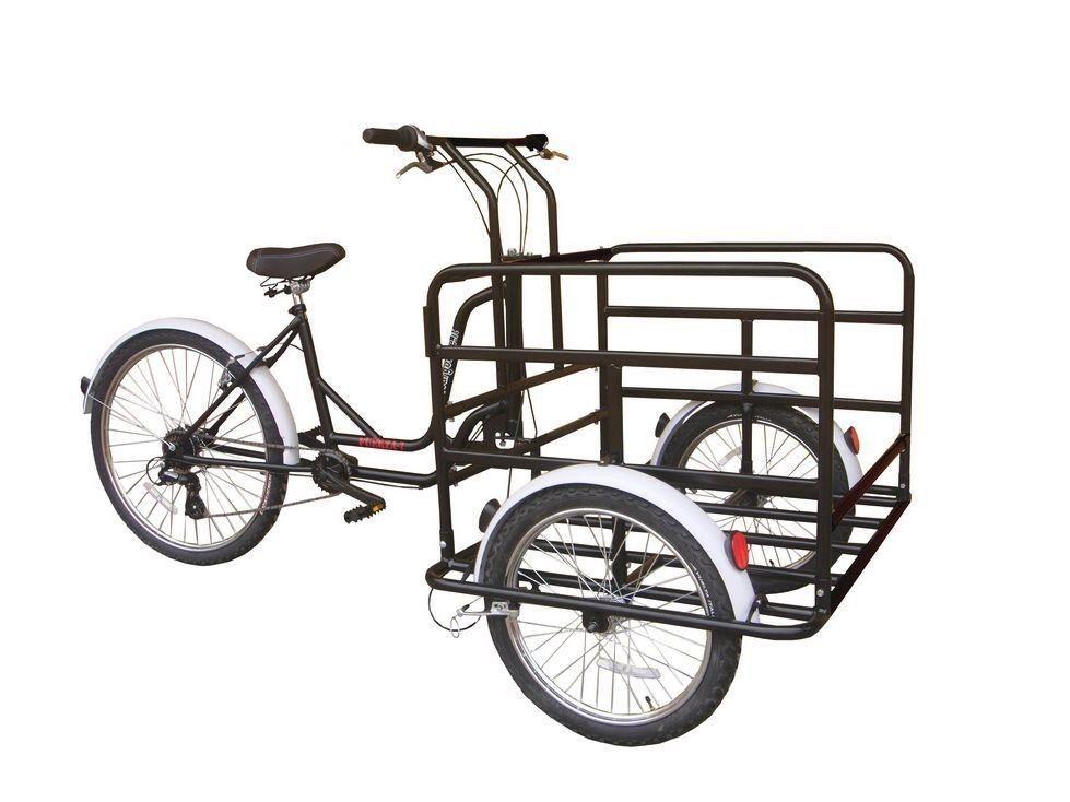 Сборка трехколесного велосипеда в картинках
