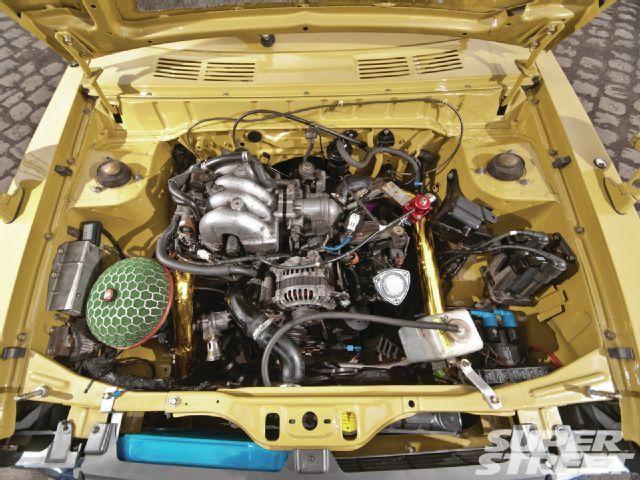 1976 Toyota 1000 KP30 13B Rotary Engine | Rotary power