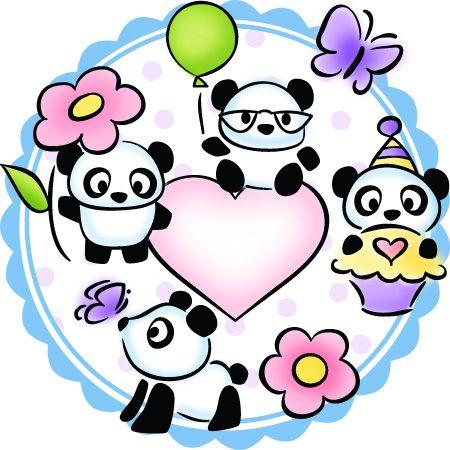 DeNami Design Blog: Sneak Peek Week Day 5- Pandas and Giveaway!