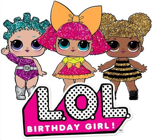 Happy Birthday Cake Topper Cutout
