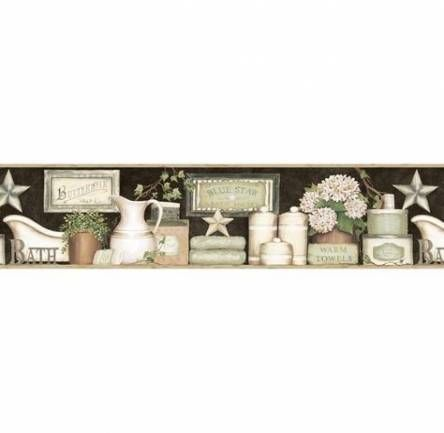 63 Ideas Bathroom Wallpaper Border Signs Bathroom Country House Decor Country Style Dining Room Country Style Homes