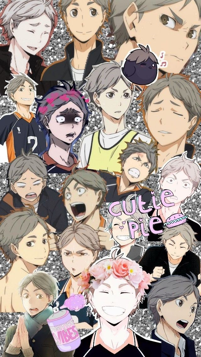 Suga wallpaper Anime, Anime guys, Haikyuu