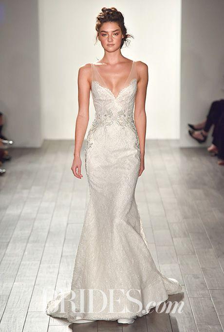 Brides Lazaro Wedding Dresses Fall 2017 Bridal Fashion Week