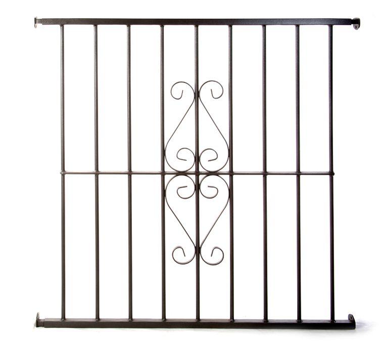 Reja de hierro de seguridad para ventanas modelo for Modelos de puertas de fierro para casa