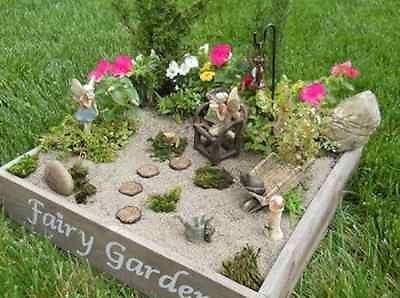 Attractive How To Build A Fairy Garden For Spring | EBay