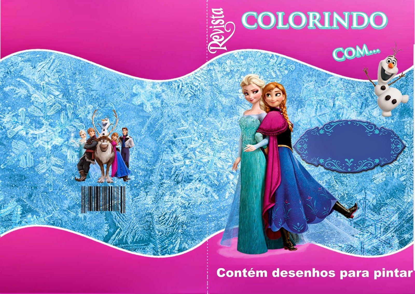 Kit De Personalizados Tema Frozen Frozen Festa Frozen