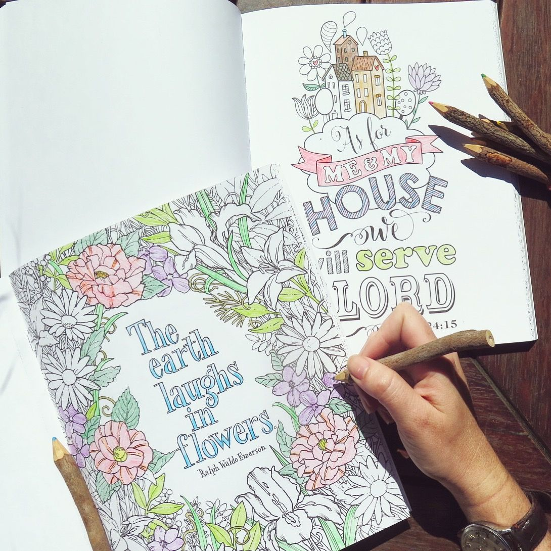 Coloring For Grown Ups Is Officially A Thing And We