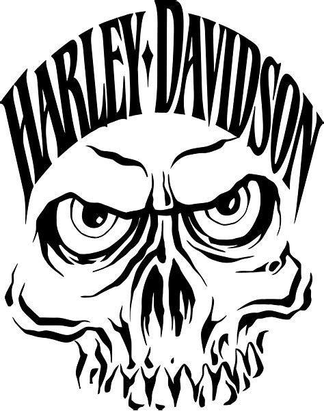 Image result for Harley-Davidson Logo Clip Art Skull