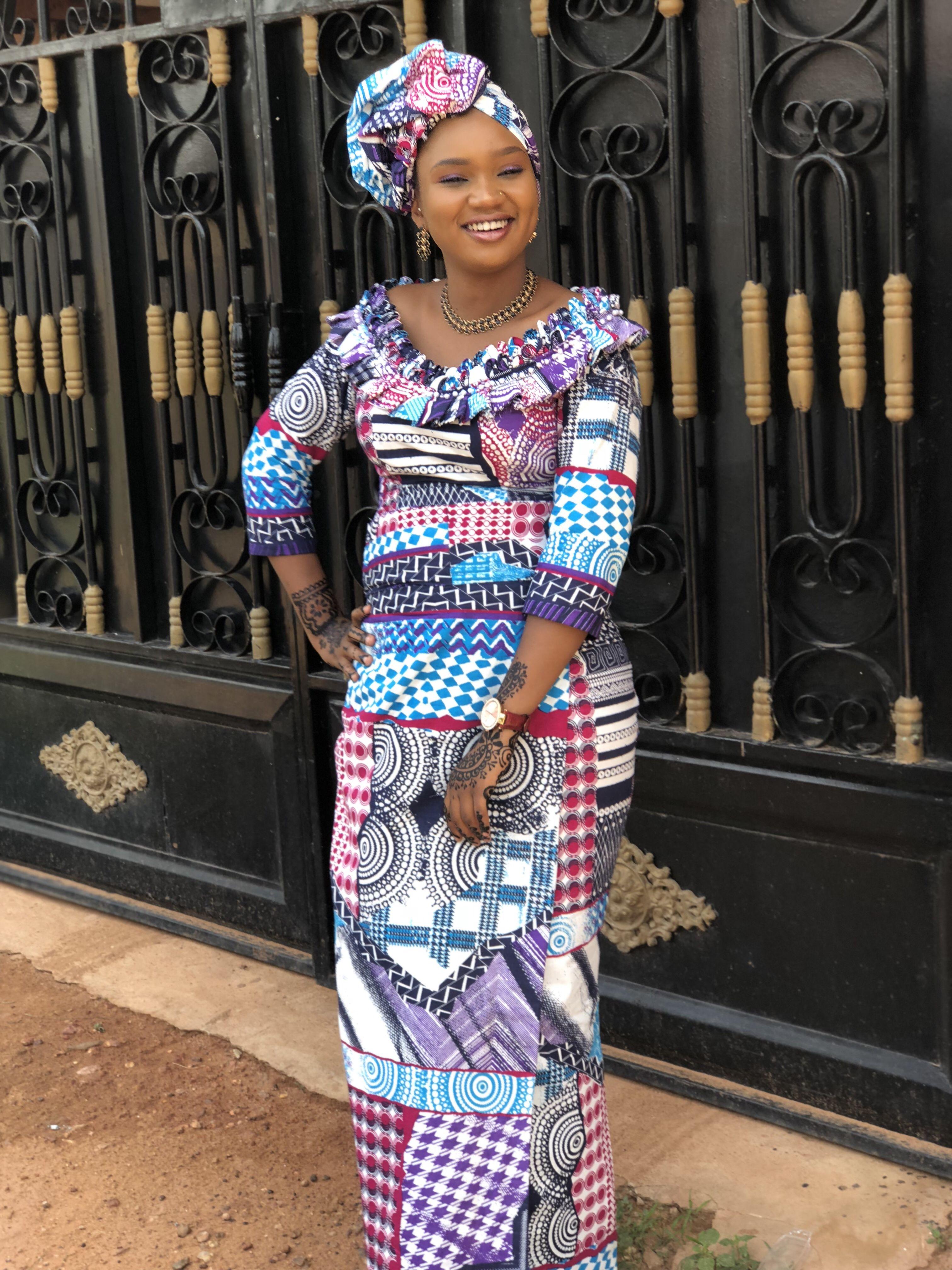 Wax modèle robe 🇲🇱 | African dress, African