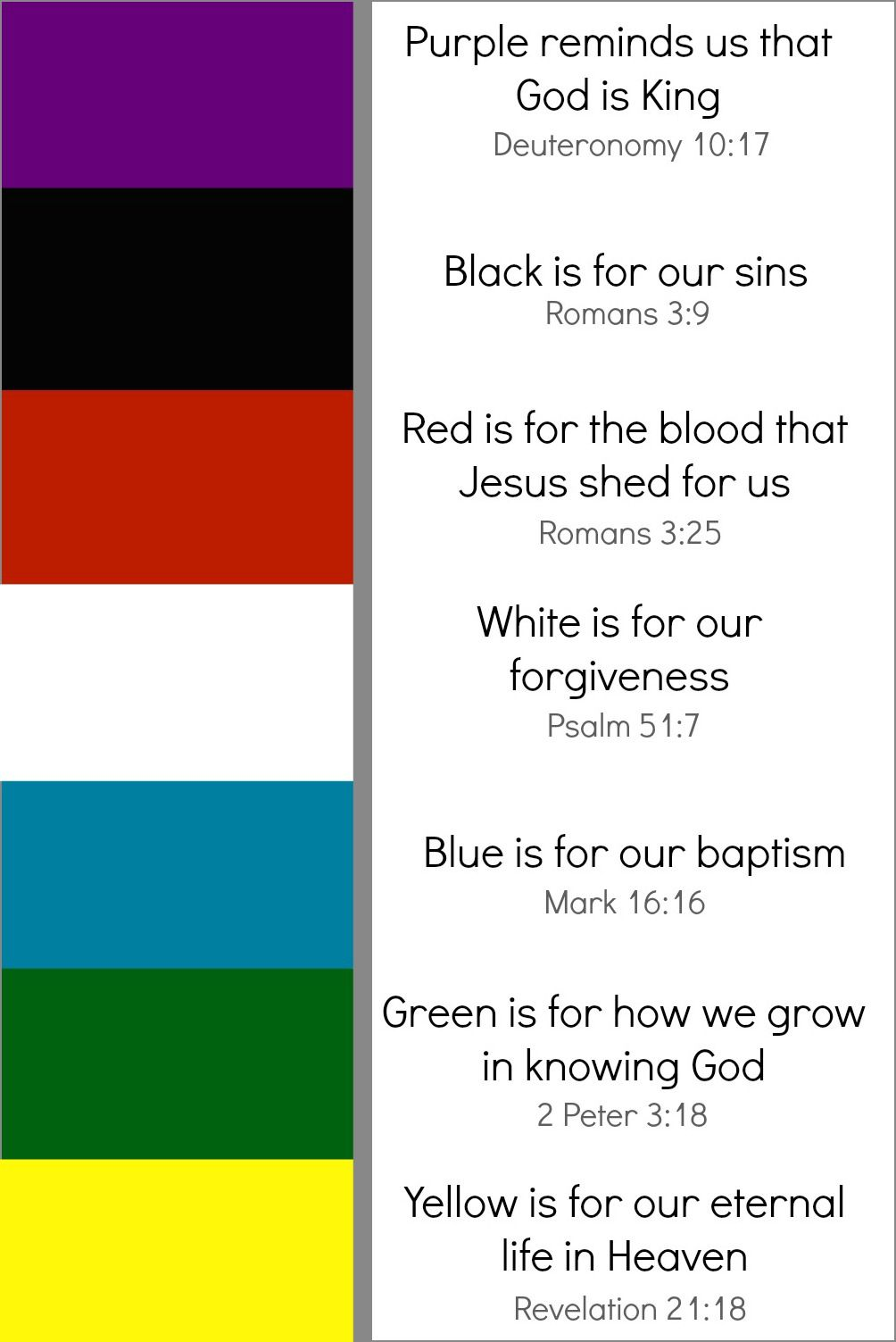 Biblical Bible Color Meanings - Year of Clean Water