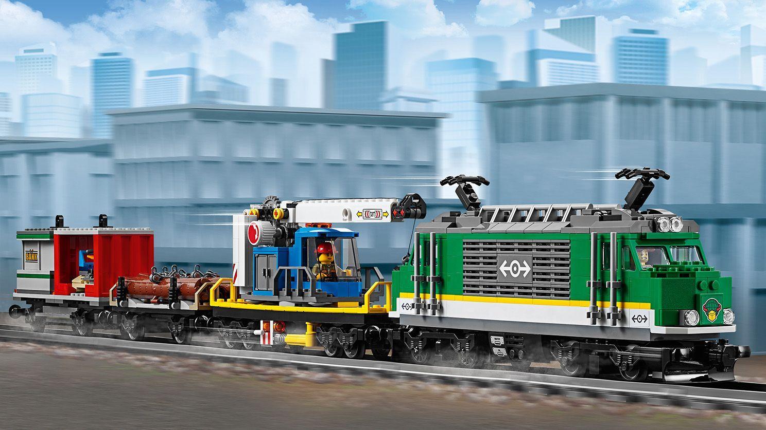 LEGO City 60198 Cargo Train   Lego, Train