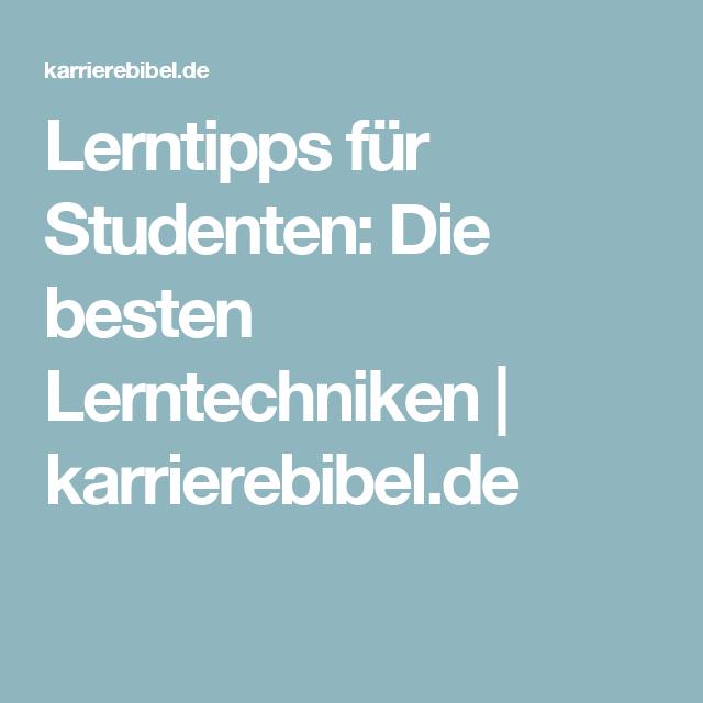 Lerntipps Fur Studenten Die Besten Tipps Und Tricks Lerntipps Lernen Lerntechniken
