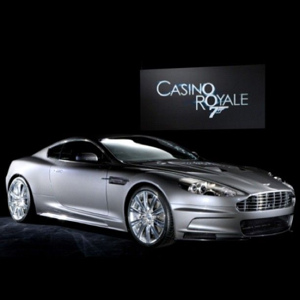 Aston Martin as seen in Casino Royale!