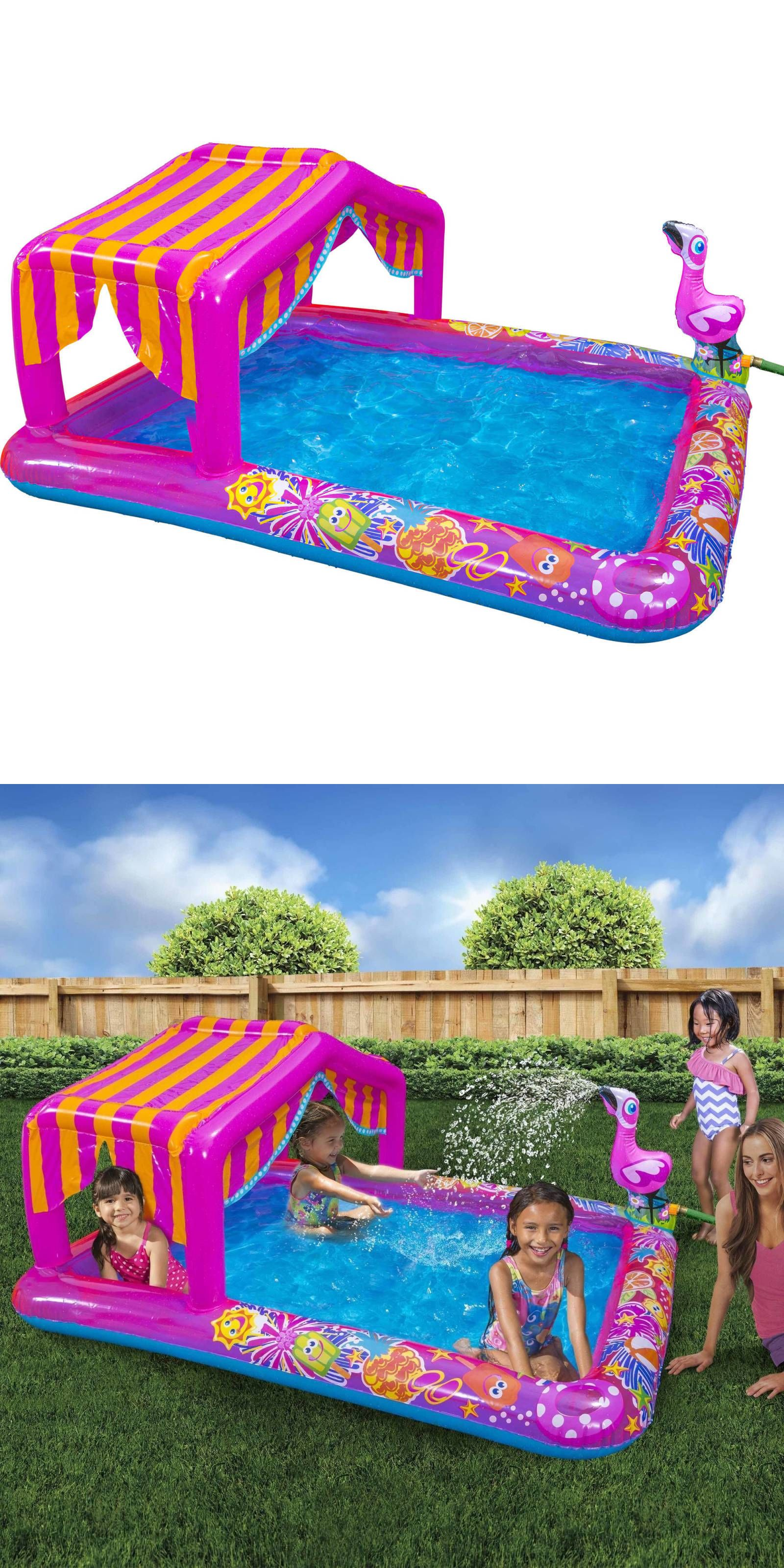 Inflatable and Kid Pools 116407: Inflatable Pool Bounce Backyard 74 L Water Outdoor Swim Family Summer Baby Play -> BUY IT NOW ONLY: $84.7 on eBay!