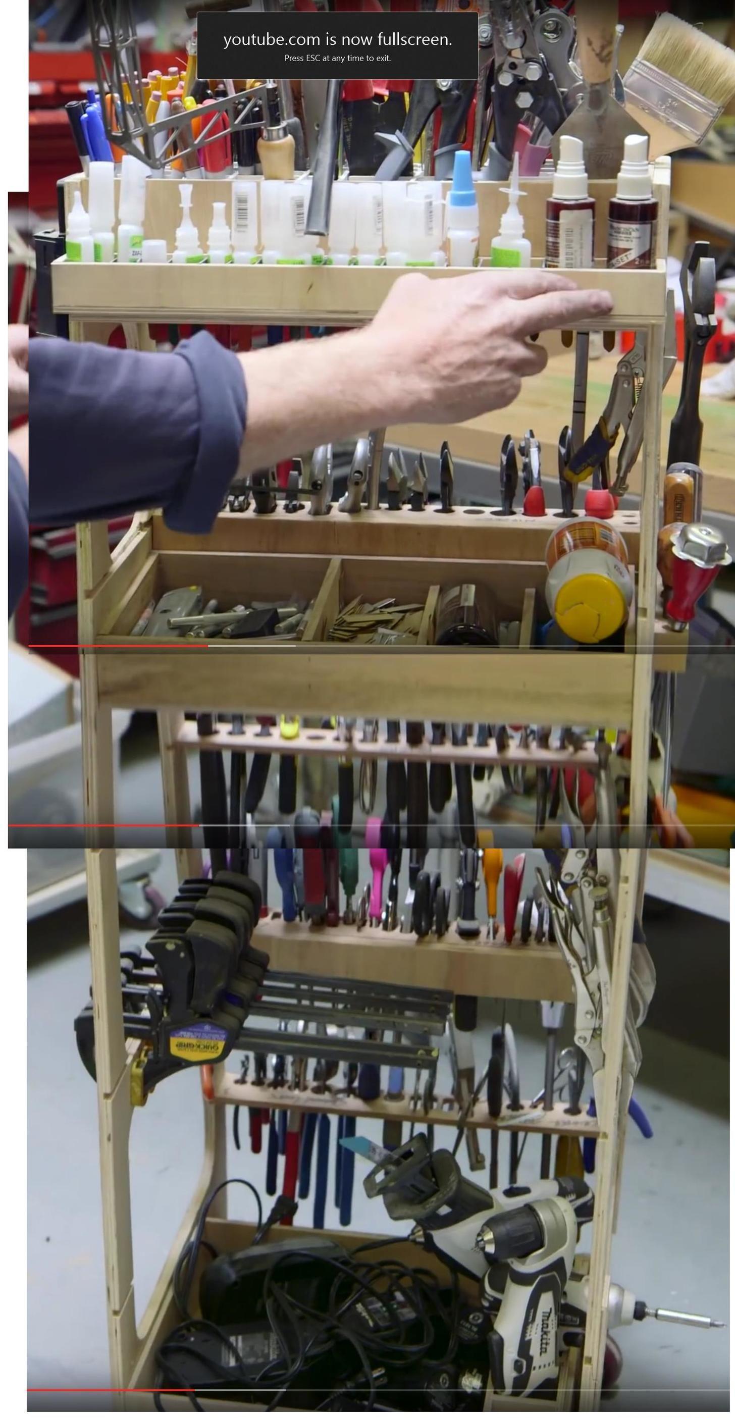 Building Adam Savage S Tool Cart Screencap Reference
