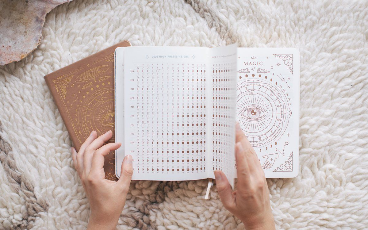 2020 astrological planner astrology gift astrology