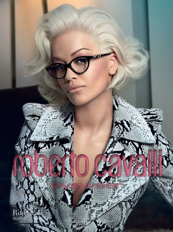 65ca14ba619 Snapshot  Rita Ora for Roberto Cavalli Fall 2014 Eyewear Cara Diamante
