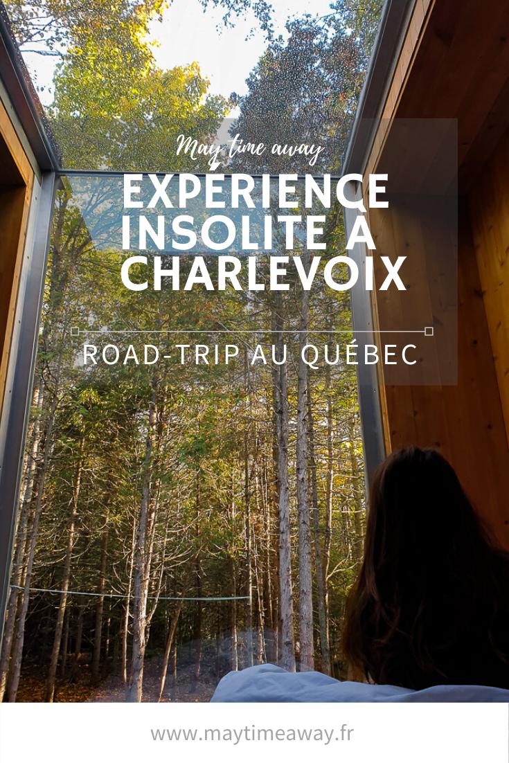 Nuit insolite à Charlevoix – Québec