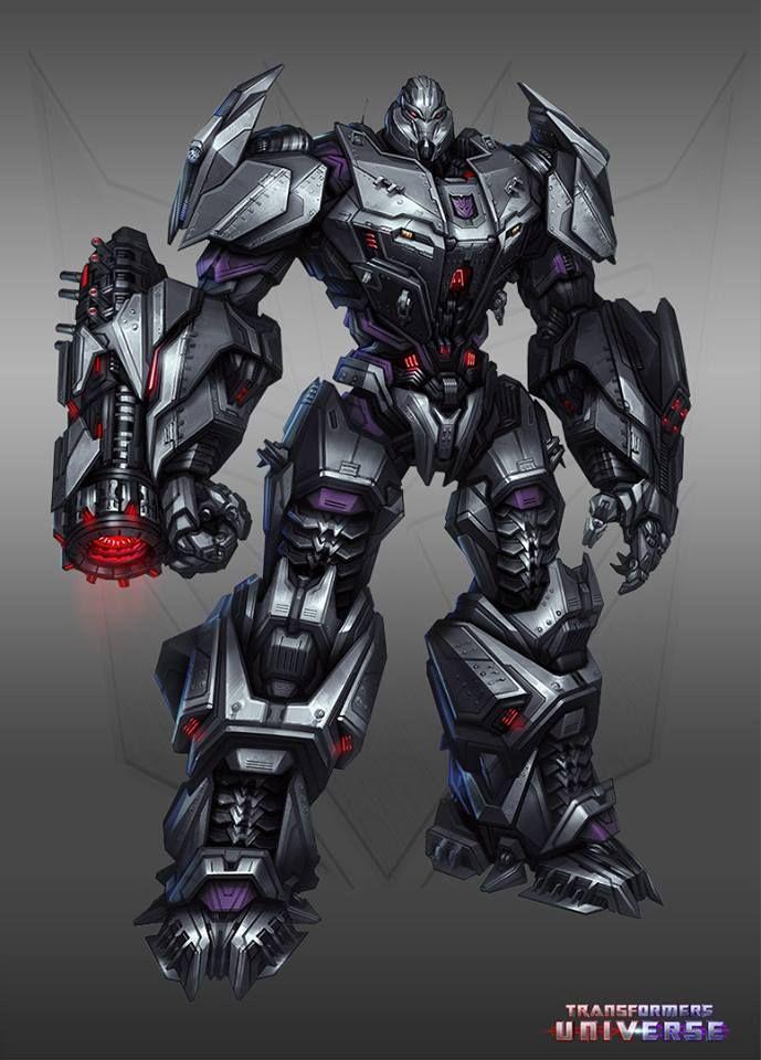 Megatron Concept Art Transformers Megatron Transformers