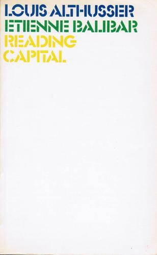 Lire Le Capital Collect Essay Developed By Loui Althusser And Hi Student In A Seminar On Karl Marx S Da Kapital Marxist Philosophy Books Essays Alienation Pdf Topic