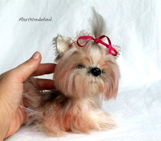 Longhair York Puppy by By Alisa Shangina | Bear Pile