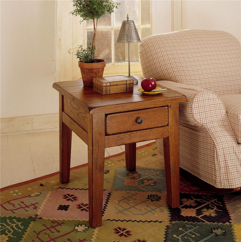 Attic Heirlooms End Table with 1 Drawer by Broyhill Furniture ...