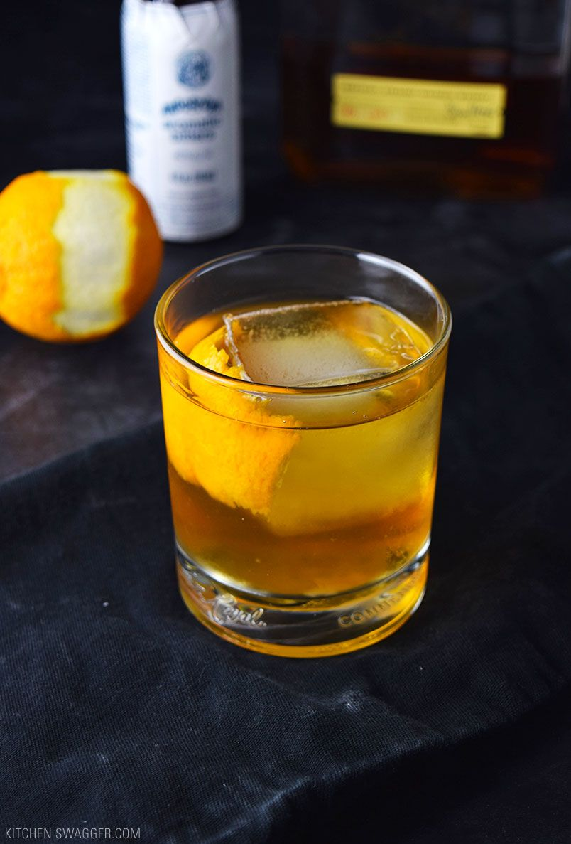 Old Fashioned Cocktail Recipe Good Whiskey Drinks Whiskey
