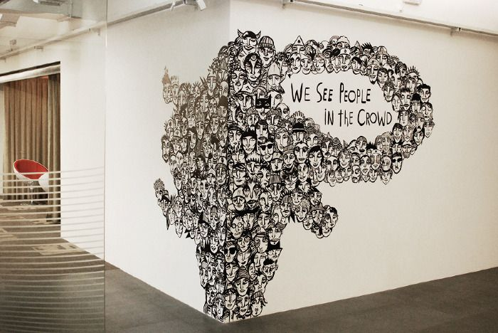 Artist Doodles Hundreds of Faces He Sees in Crowd - My Modern Metropolis